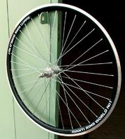 """Обод велосипедный задний двойной 26"""" (V-Brake) гайки"""